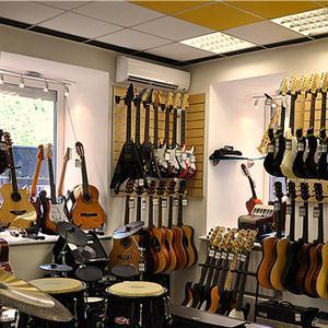 Музыкальные магазины Гурьевска